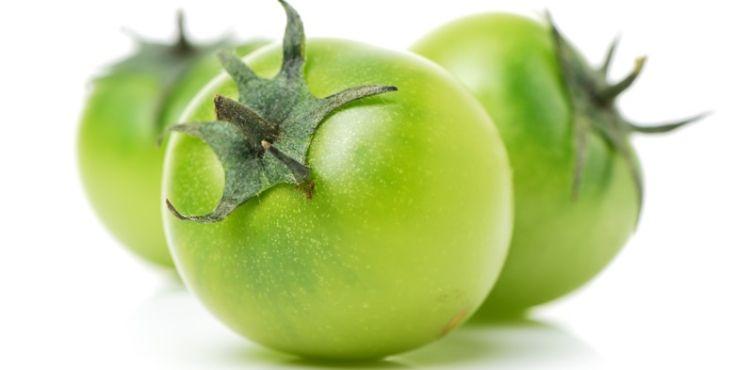 Πράσινες ντομάτες τουρσί